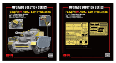 1/35 Rye Field Model Upgrade Solution for Pz.Kpfw IV Ausf J. Late #5033 & 5043