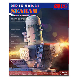 RPG 1/35 MK-15 MOD.31 SEARAM Close-in Weapon System