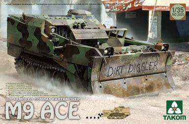 US Armored Combat Earthmover M9 ACE
