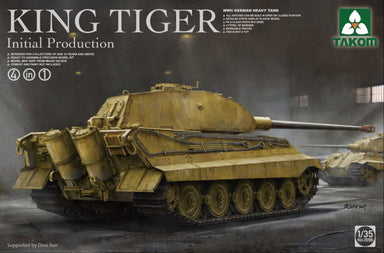 King Tiger initial production 4 in 1