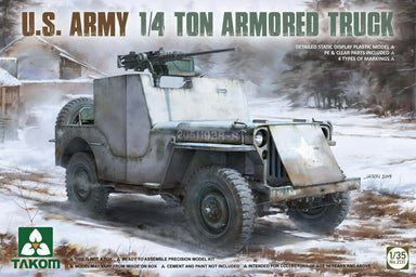 1/35 Takom US Army 1/4 Ton Armored Truck