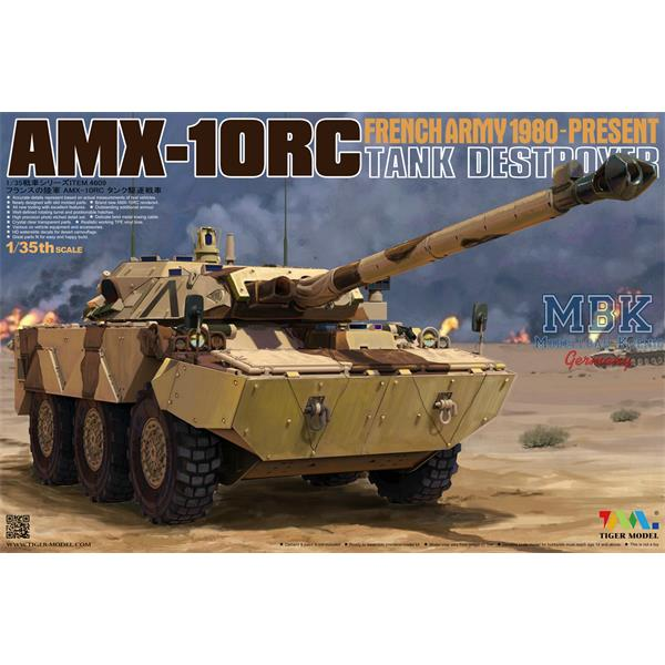 1/35 Tiger Model AMX-10 RC French Tankdestroyer 1991