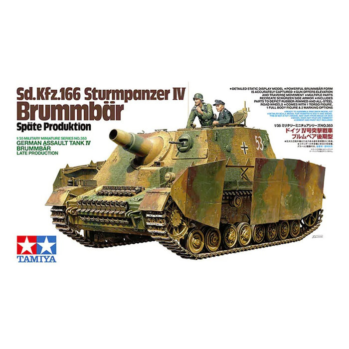 1/35 Tamiya Sd.Kfz.166 Sturmpanzer IV Brummbaer late Production