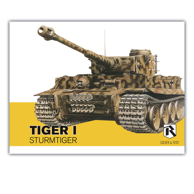 Feist Books Tiger I Sturmtiger - Culver & Feist