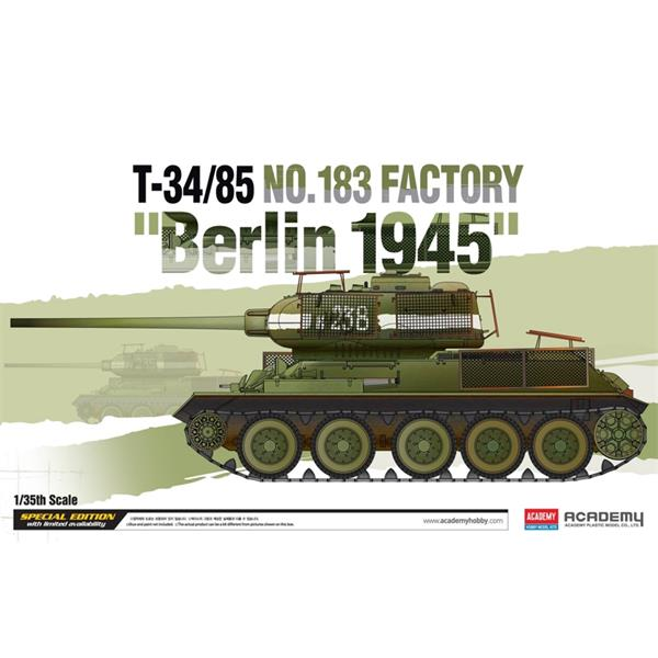 "1/35 Academy T-34/85 NO.183 Factory - ""Berlin 1945"""