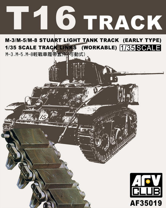 1/34 AFV Club T16 TRACK FOR M3 STUART/M5