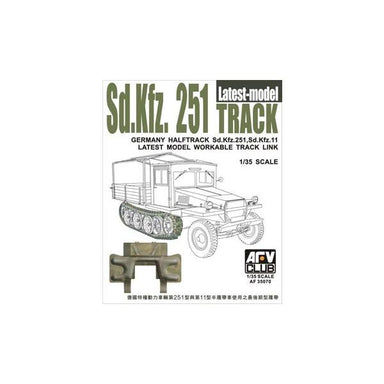 Sd.Kfz.251 & 11 LATEST MODEL TRACK LINK (WORKABLE)
