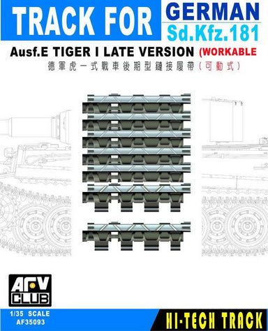 TRACKS FOR GERMAN TIGER I LATE VERSION (WORKABLE)