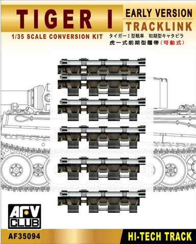TRACKS FOR GERMAN TIGER I EARLY VERSION (WORKABLE)