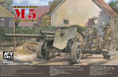 3 INCH GUN M5 AND CARRIAGE M6