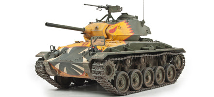 "U.S. M24 TANK ""CHAFFEE"" (KOREAN WAR)"