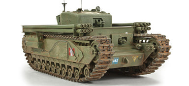 1/35 AFV Club CHURCHILL AVRE WITH SNAKE LAUNCHER