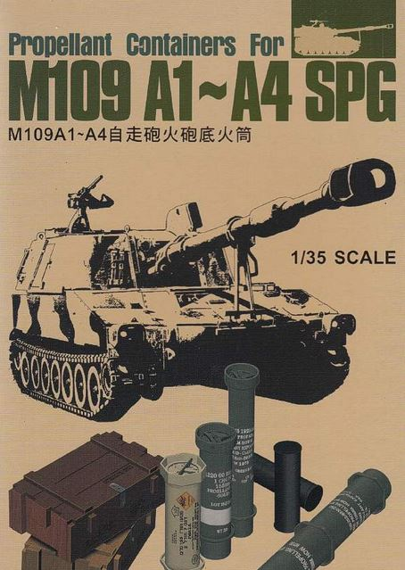 Propellant Containers for M109A1-A4 SPG