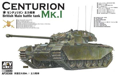 1/35 AFV Club Centurion MKI- British Main Battle Tank