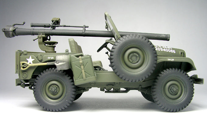 1/35 AFV Club M38A1C 1/4T 106mm RECOILESS RIFLE
