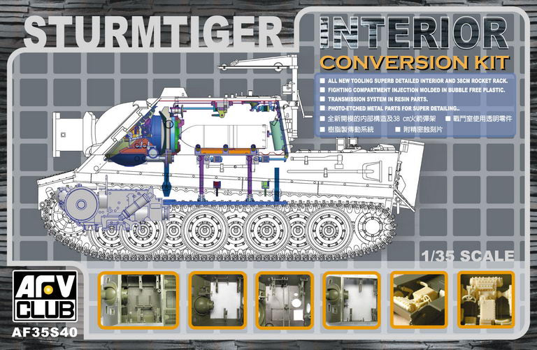 1/35 AFV Club Sturmtiger Interior Kit