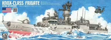 1/700 AFV Club USs Knox Class Frigate Detail-Up Version