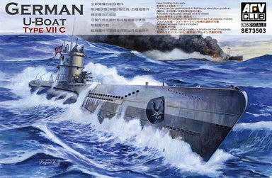 1/350 AFV Club GERMAN U-BOAT TYPE VII C