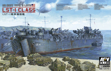1/350 AFV Club US NAVY TYPE 2 LSTs LST-1 CLASS