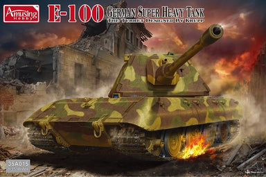 "E-100 German Super Heavy Tank ""Krupp turret"""