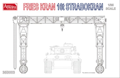 Fries Kran - 16t Strabokran