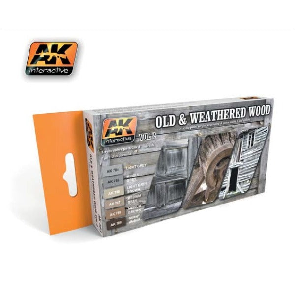 AK Interactive Old & Weathered Wood Vol.2