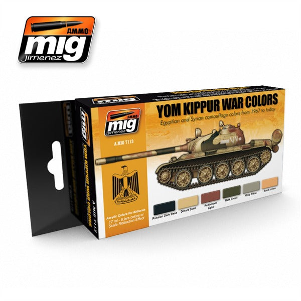 Yom Kippur War Colors Set