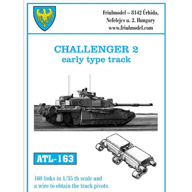 Challenger 2 early type tracks