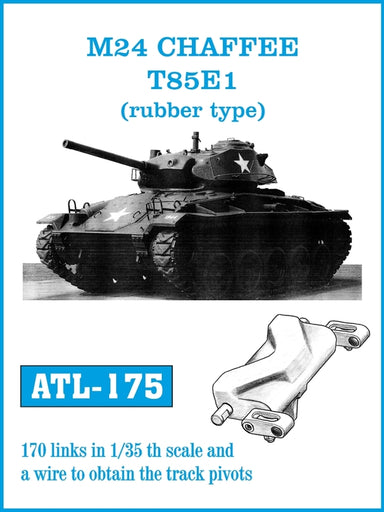 M24 Chaffee T85E1 (rubber type) tracks