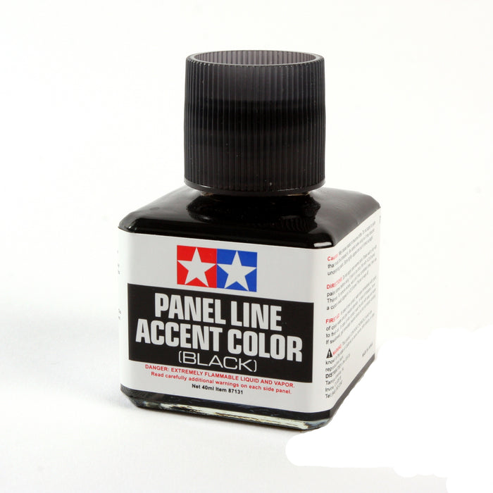 TAMIYA Panel Line Accent Color Black 40ml