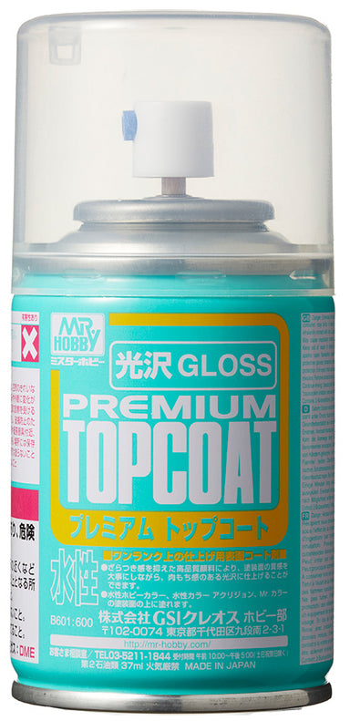 Mr. Hobby Mr. Premium Topcoat Gloss-37ml