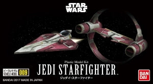 Bandai 009 Jedi Star Fighter