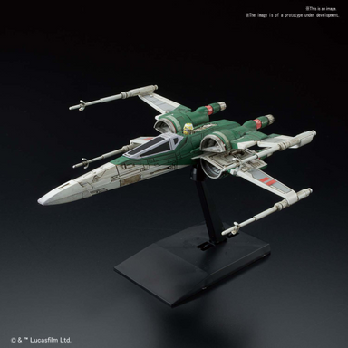 BANDAI #17 X Wing Fighter- Rise of Skywalker Version