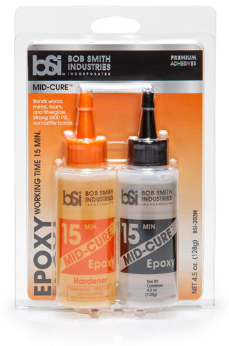 BSI Mid-Cure 15 Minute Epoxy 4 1/2 oz.