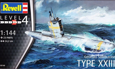 1/144 Revell German Submarine TYPE XXIII