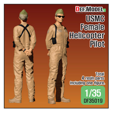 1/35 Def Model USMC Female Helicopter Pilot