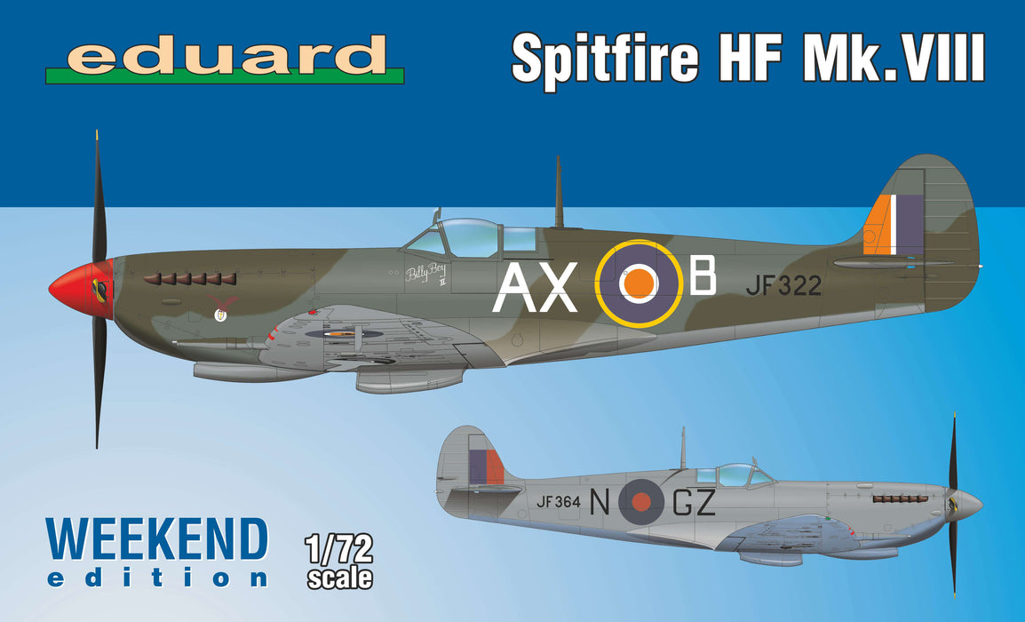 1/72 Eduard Spitfire HF Mk.VIII - Weekend Edition -