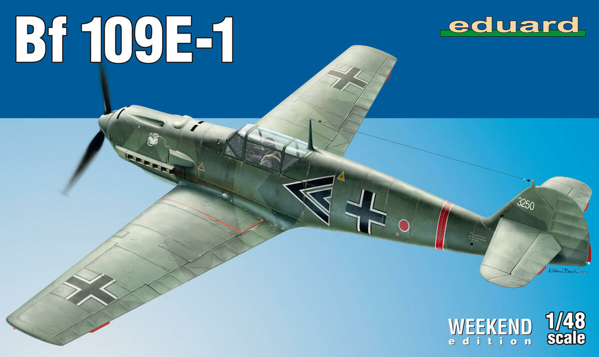 1/48 Eduard Bf 109E-1 - Weekend Edition