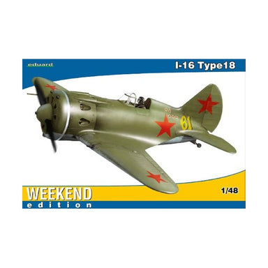 1/48 Eduard I-16 Type 18 (Weekend Edition)