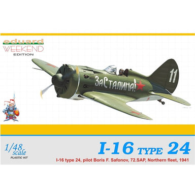 1/48 Eduard I-16 Type 24 (Weekend Edition)