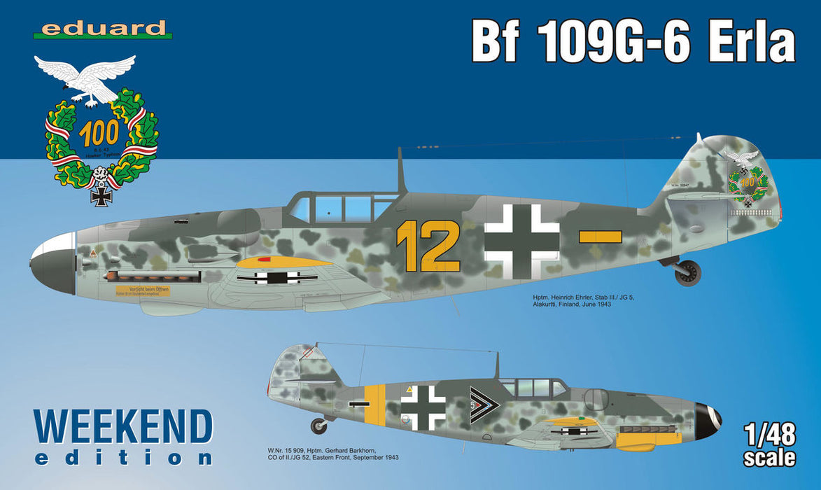 1/48 Eduard Bf 109G-6 Erla -Weekend Edition-