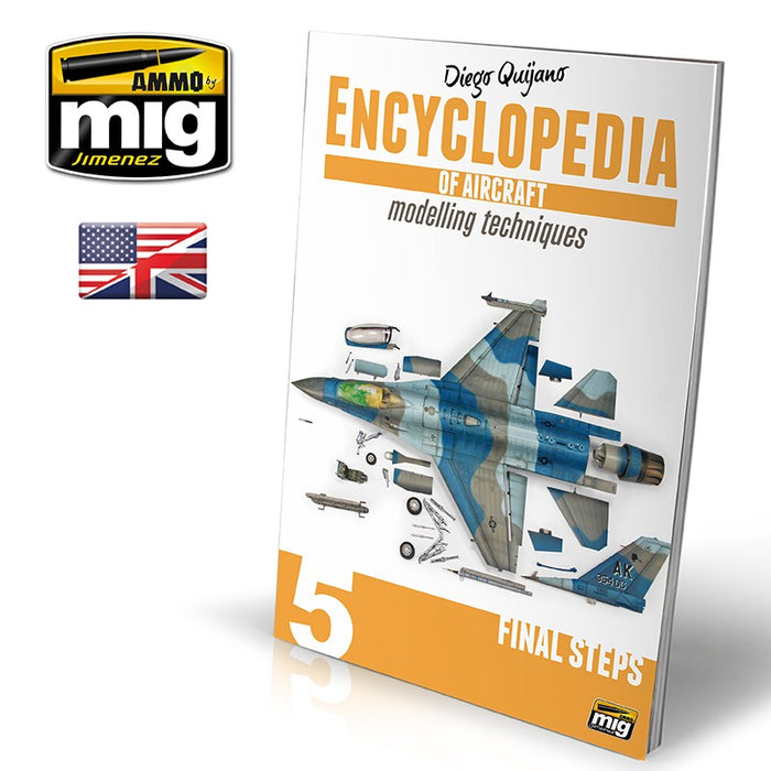 "AMMO Encyclopedia of Aircraft Modeling Vol.5 ""Final Steps"""