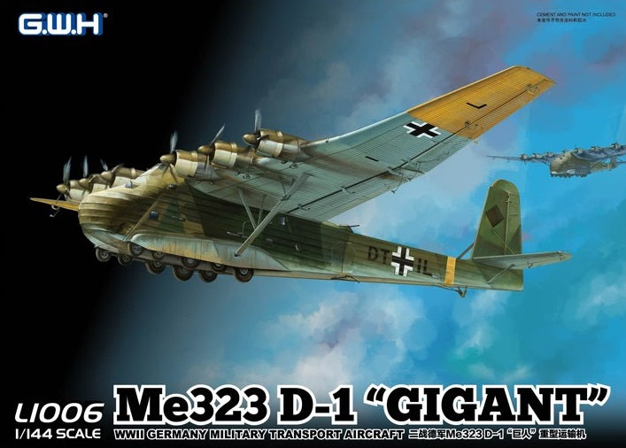 "1/144 Great Wall Messerschmitt Me 323 D-1 ""Gigant"""