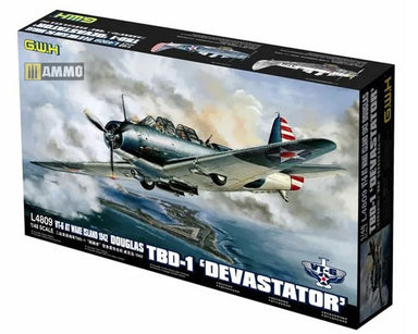 "1/48 Great Wall TBD-1 ""Devastator"" - VT-6 at Wake Island 1942"