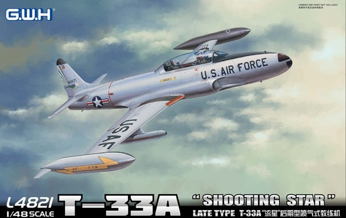1/48 Great Wall Hobby T-33A Shooting Star Early Version