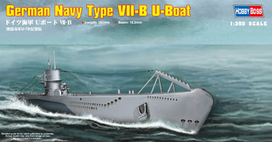 1/350 Hobby Boss German Navy Type VII-B U-Boat