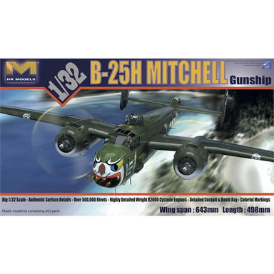 "1/32 HK Models B-25H Mitchell ""Gunship"""
