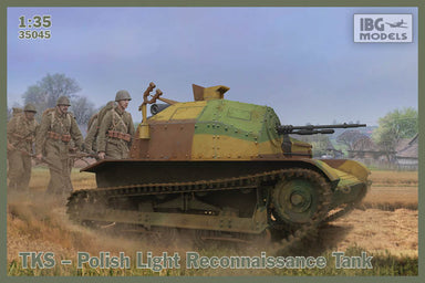 1/35 IBG TKS Polish Tankette with Machine Gun