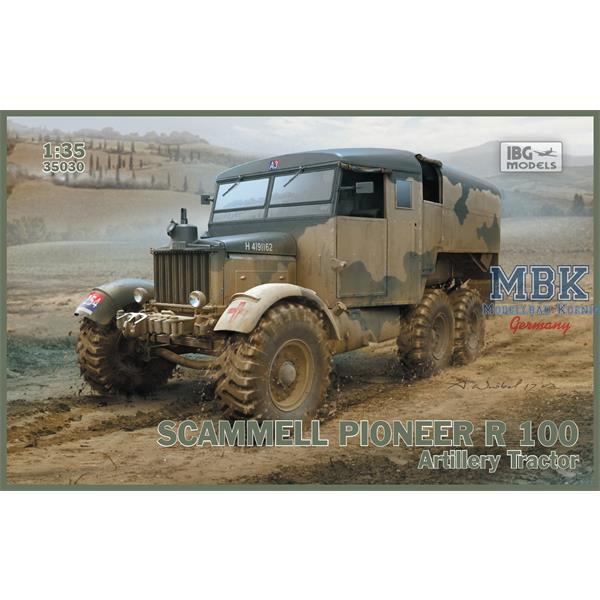 1/35 IBG Scammell Pioneer R 100 Artillery Tractor