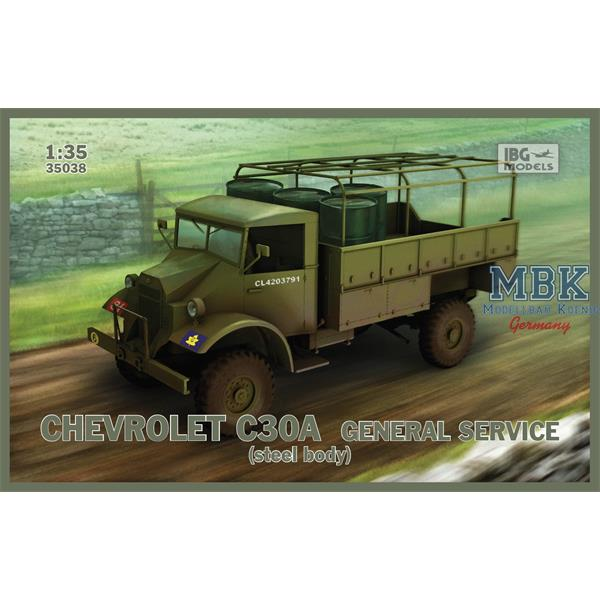 1/35 IBG Chevrolet C30A General service (Steel Body)
